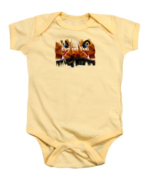 Eye On You Baby Onesie by Anita Faye