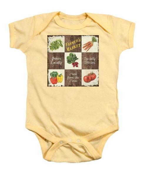 Farmer's Market Patch Baby Onesie