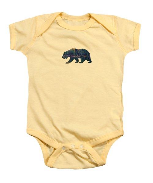 Forest Bear Baby Onesie