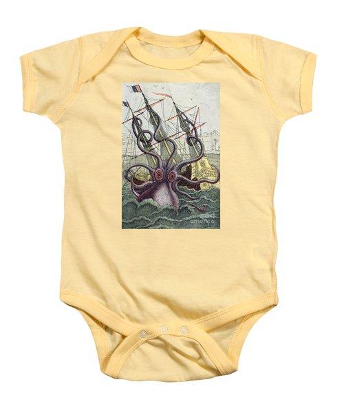 Giant Octopus Baby Onesie