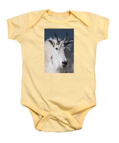 Goat Portrait Baby Onesie