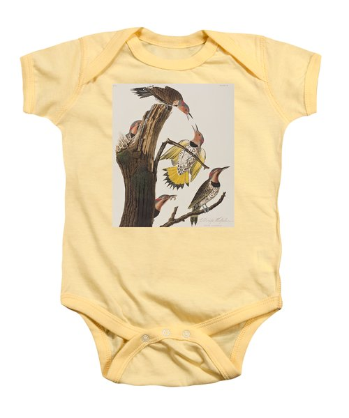 Golden-winged Woodpecker Baby Onesie