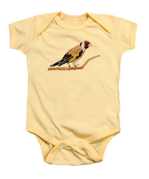 Goldfinch Baby Onesie