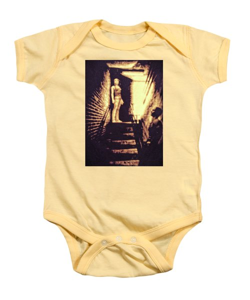 Good Neighbors  Baby Onesie by Bob Orsillo