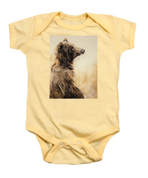 Grizzly Bear 2 Baby Onesie