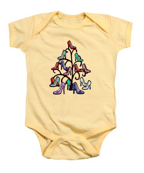High Heels Tree Baby Onesie