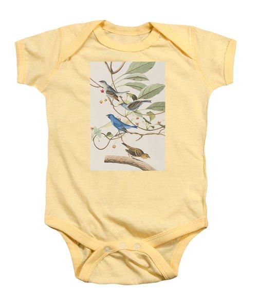 Indigo Bird Baby Onesie