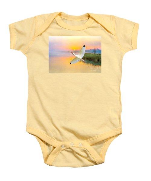 Island Ibis Baby Onesie