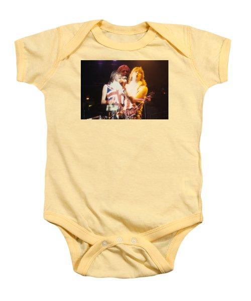 Joe And Phil Of Def Leppard Baby Onesie