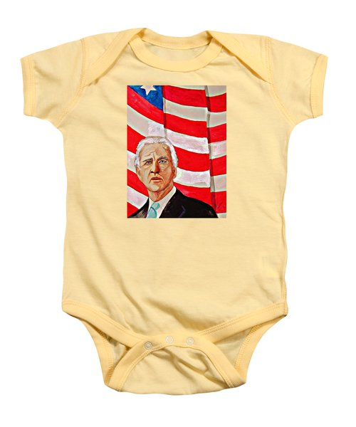 Joe Biden 2010 Baby Onesie by Ken Higgins