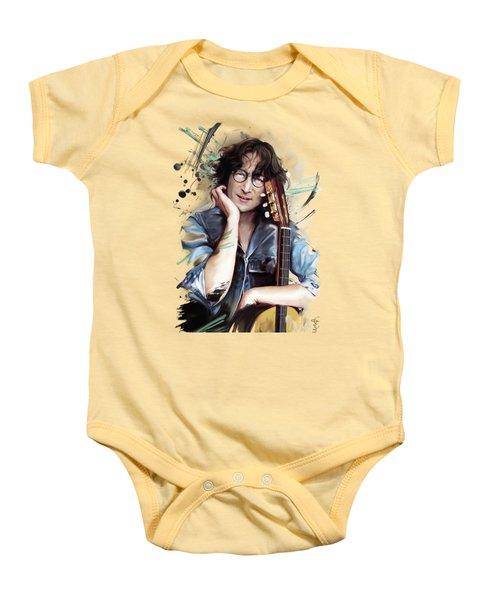 John Lennon Baby Onesie