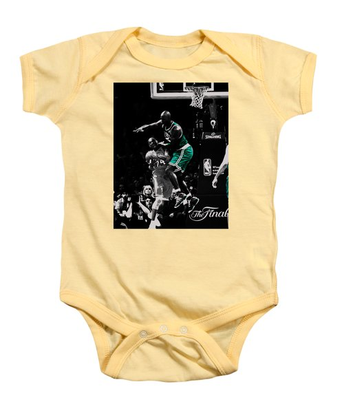 Kevin Garnett Not In Here Baby Onesie by Brian Reaves