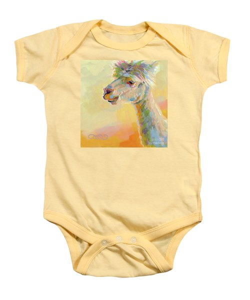 Lolly Llama Baby Onesie by Kimberly Santini