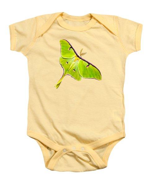 Luna Moth Baby Onesie
