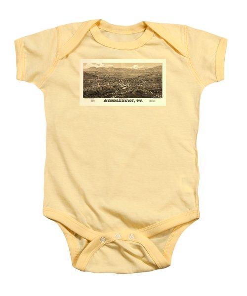 Middlebury Vermont Baby Onesies Fine Art America