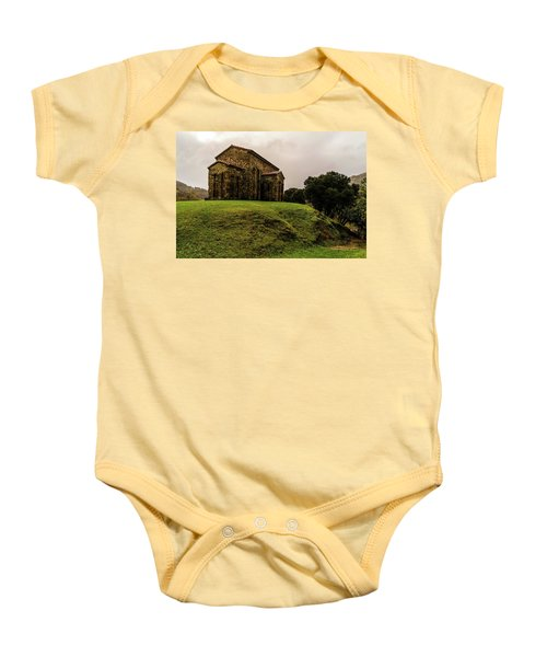Mountains And Valleys All Around Baby Onesie