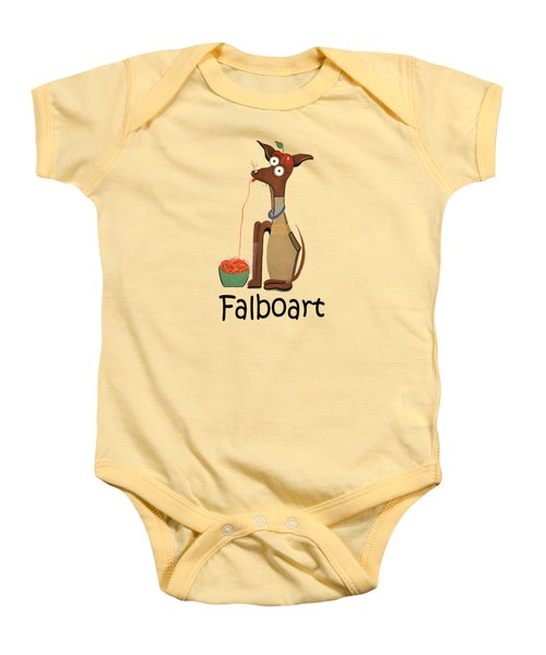 My Applehead Chiwawa Baby Onesie by Anthony Falbo