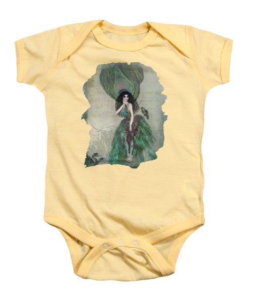 Mysterieuse Baby Onesie by Terry Fleckney