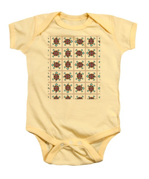 Native American Pattern Baby Onesie