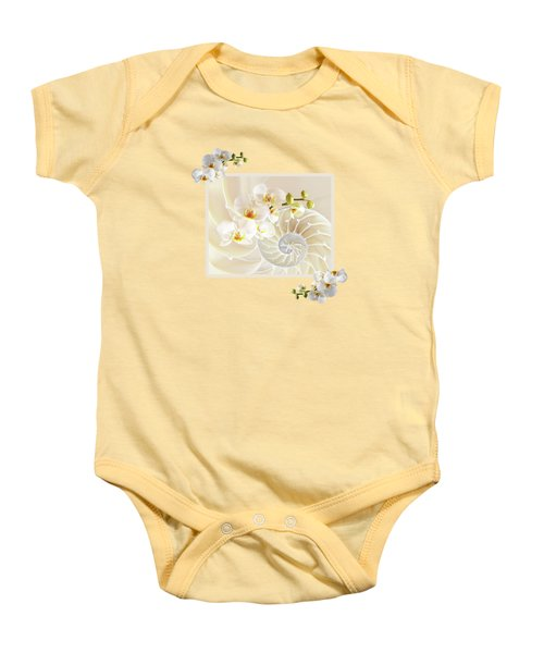 Natural Fusion Baby Onesie by Gill Billington