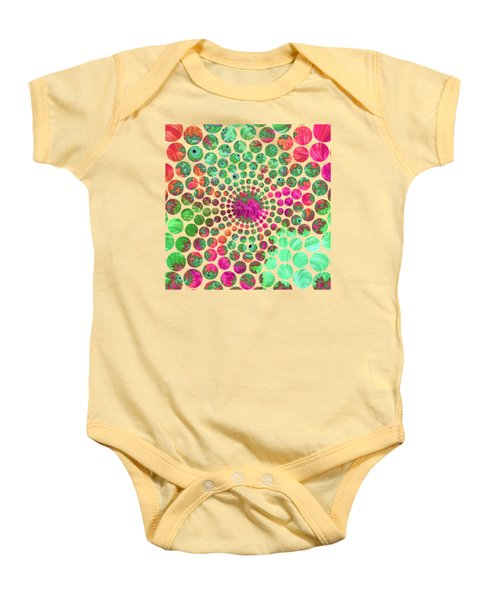 Neon Dream Baby Onesie