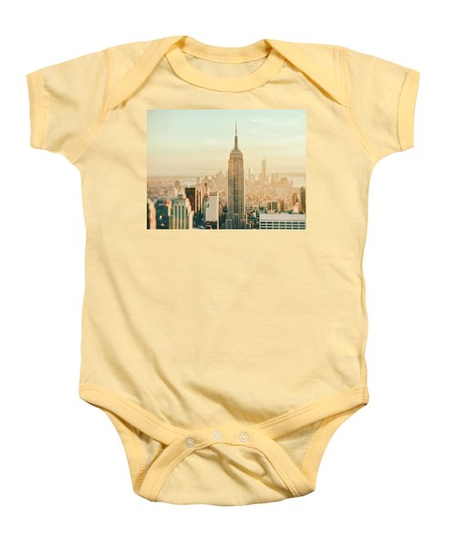New York City - Skyline Dream Baby Onesie