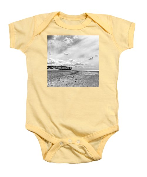 Old Hunstanton Beach, Norfolk Baby Onesie