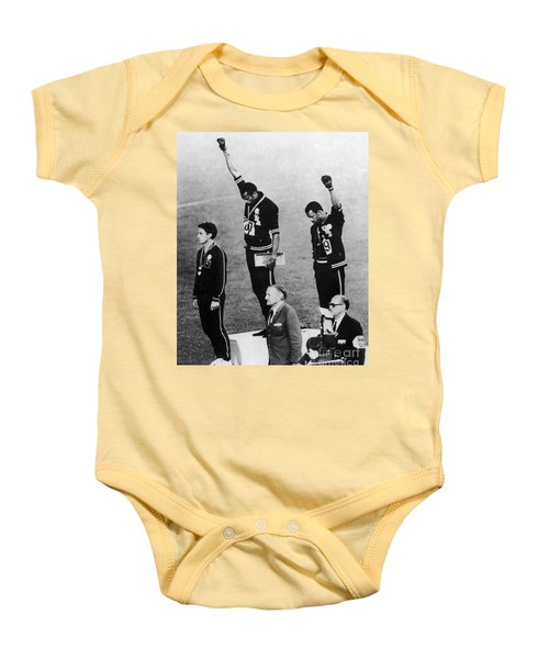 Olympic Games, 1968 - To License For Professional Use Visit Granger.com Baby Onesie