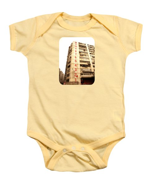 On A Dozen Different Levels Baby Onesie by Ethna Gillespie