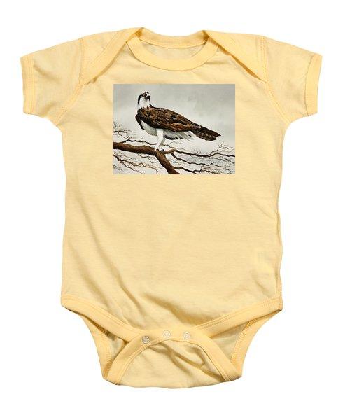 Osprey Sea Hawk Baby Onesie by James Williamson
