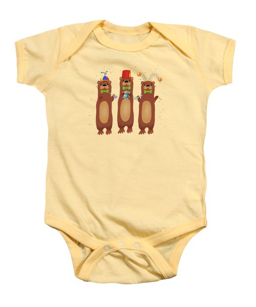 Otter Party And You Are Invited Baby Onesie
