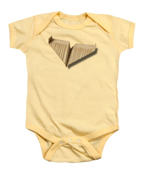 Paper Airplanes Of Wood 8 Baby Onesie by YoPedro
