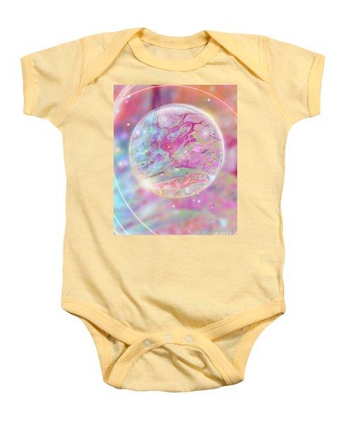 Pastel Dream Sphere Baby Onesie