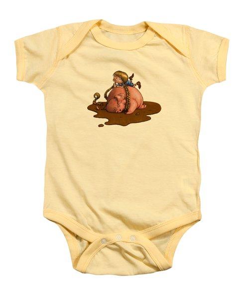Pig Tales Baby Onesie