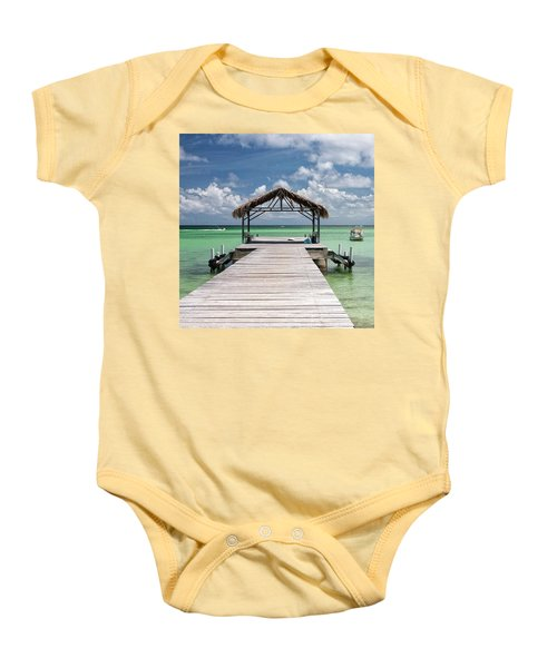 Pigeon Point, Tobago#pigeonpoint Baby Onesie