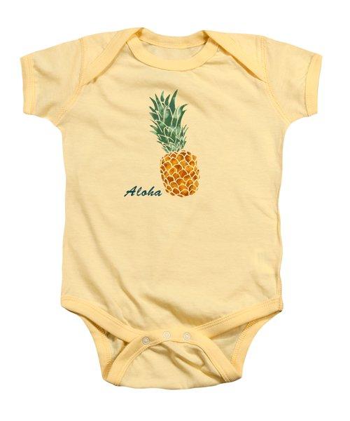 Pineapple Baby Onesie by Jirka Svetlik
