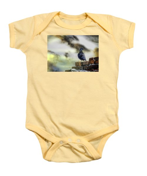 Proud To Be A Pigeon Baby Onesie
