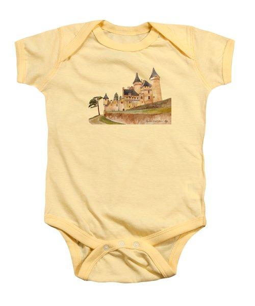 Puymartin Castle Baby Onesie