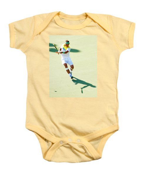 Rafael Nadal Shadow Play Baby Onesie