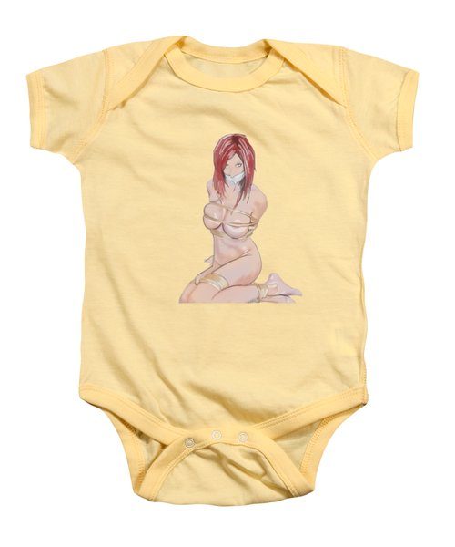Baby Onesie featuring the mixed media Really, Really? by TortureLord Art