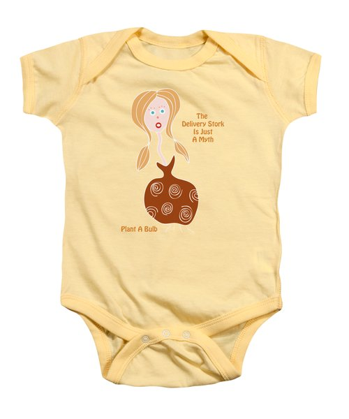 See What Pops Up Baby Onesie by Frank Tschakert