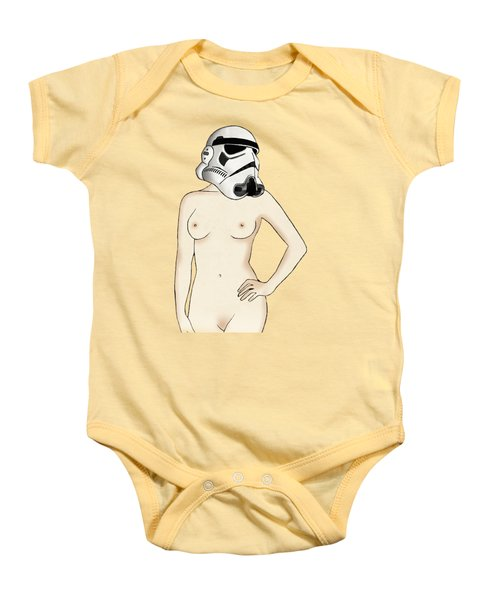 Sexy Stormtrooper Baby Onesie by Nicklas Gustafsson