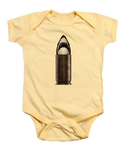 Shell Shark Baby Onesie