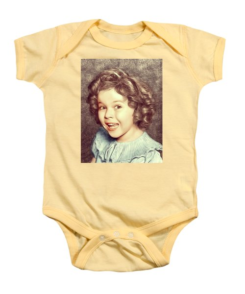 Shirley Temple, Actress Baby Onesie
