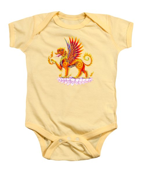 Singha Winged Lion Baby Onesie