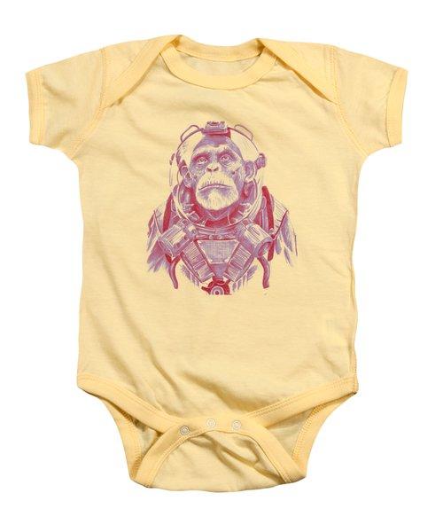Space Chimp Baby Onesie