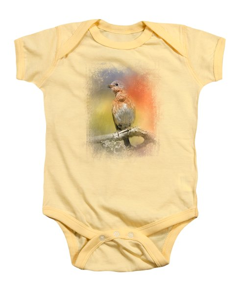 Spring Song Baby Onesie by Jai Johnson