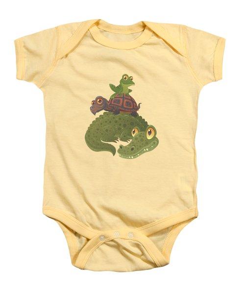 Swamp Squad Baby Onesie