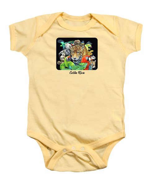 The Circle Of Life Baby Onesie by Nathan Miller