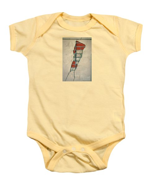 The Cracked Wall Baby Onesie